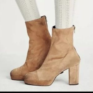 Free People Day for Night Platform bootie